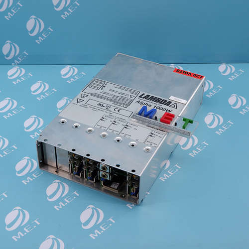 [USED]LAMBDA POWER SUPPLY 15V 8A 15V 16A 24V 25A 5.5V 25A ALPHA 1000W H17127